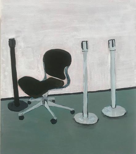 La silla del guardia
