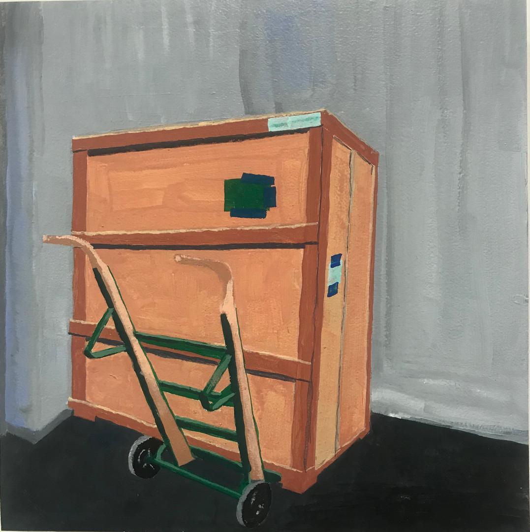La caja de arte
