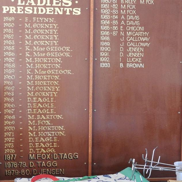 Ladies Presidents 1944 to 1993.jpg