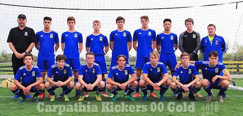 Carpathia Kickers Soccer