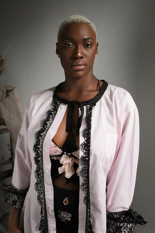 Poet's Blouse in Pink