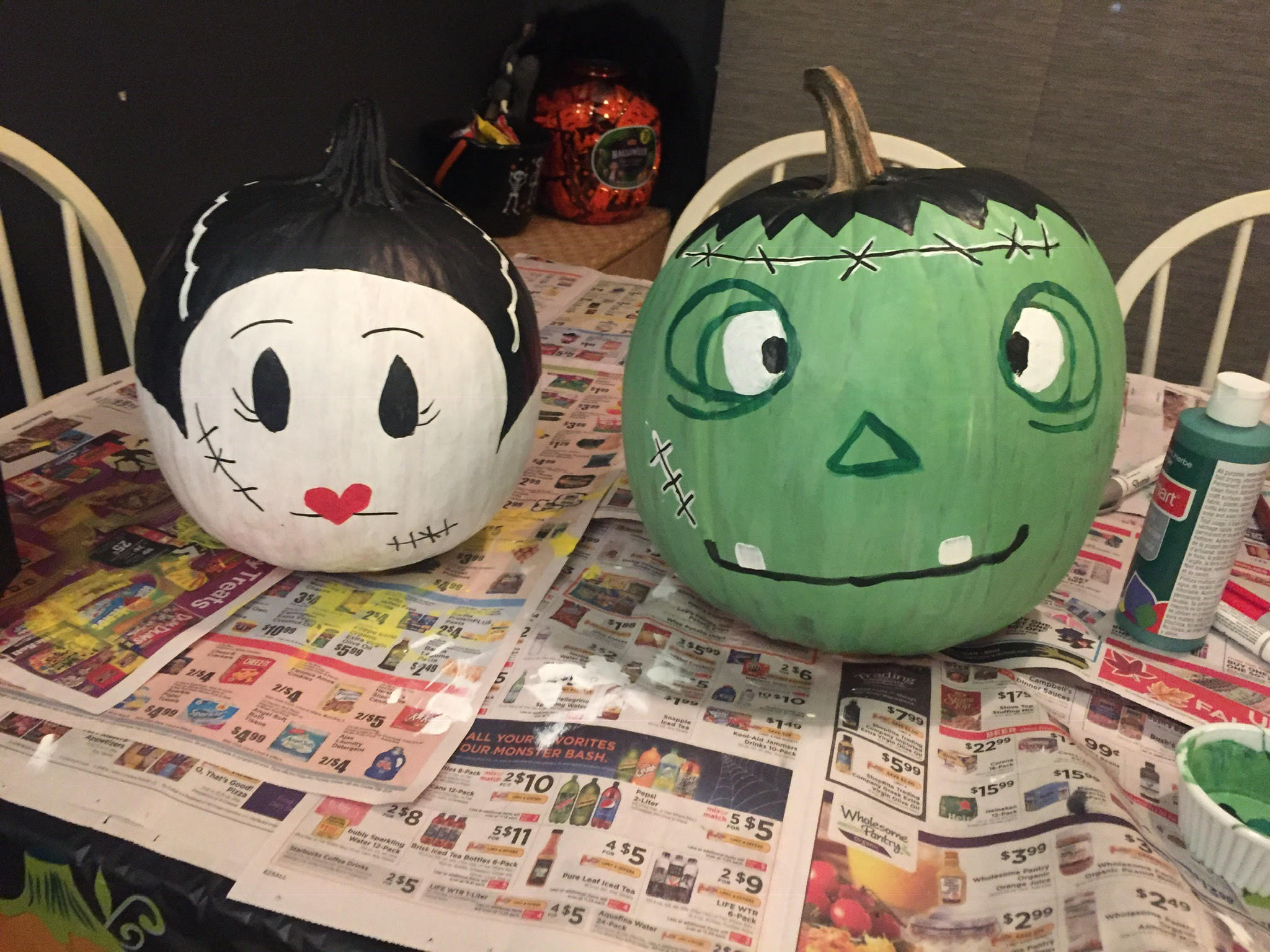 pumpkin frank and bride.jpg