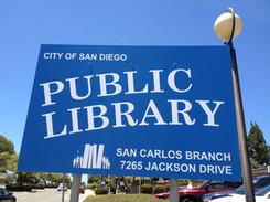San Carlos Public Library San Diego CA.J