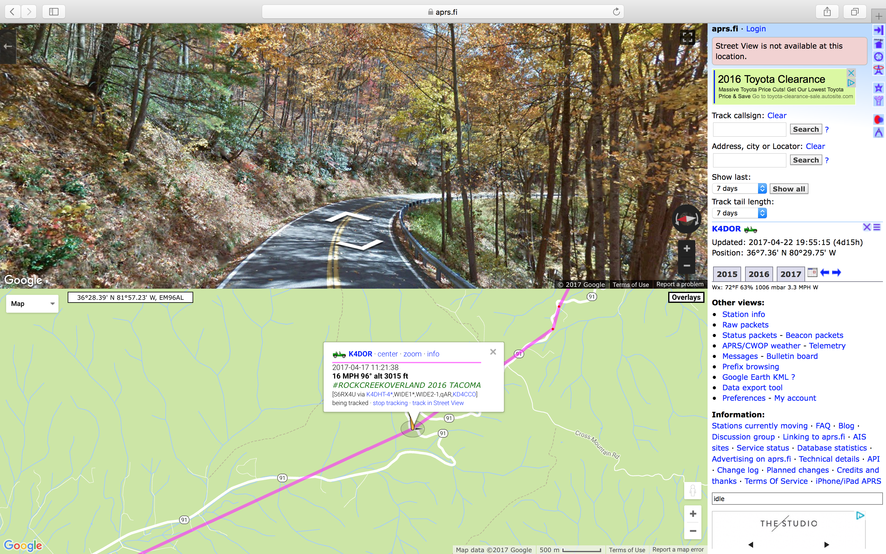 Ham Radio - APRS for Overland Use