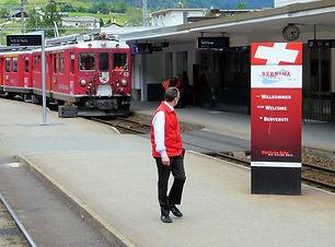 スイス・レーティッシュ鉄道