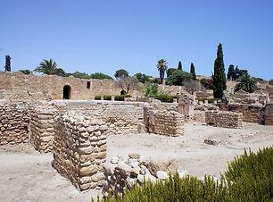 カルタゴ遺跡の写真