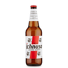 Ichnusa beer bottle
