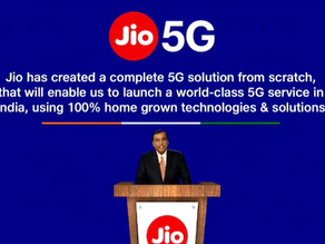 Latest announcement JIO 5G, Google collaborated with Reliance JIO 5G