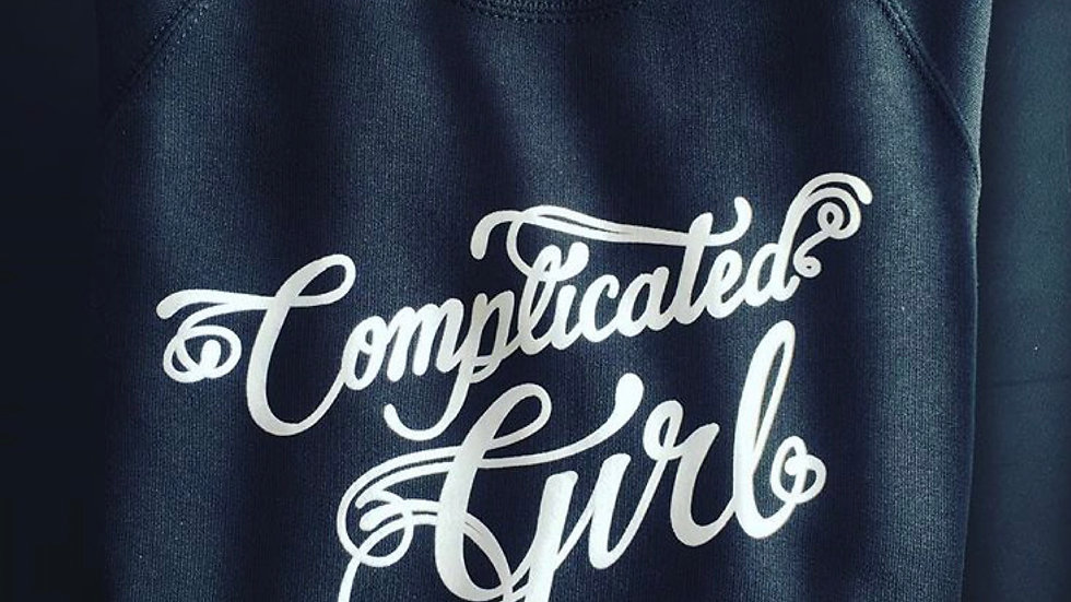 Complicated Girl sweater
