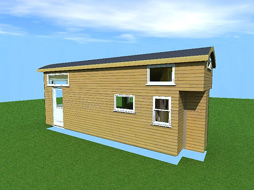 10' x 30' with loft - Cabin Style