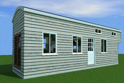 8'x 30' with single loft