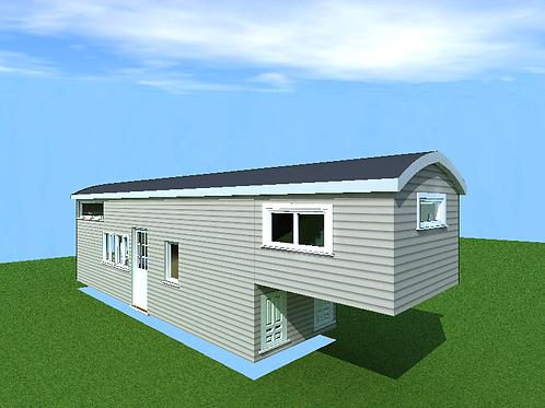 8'x 40' Gooseneck Build