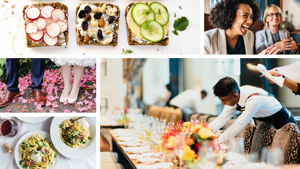 HOW TO HIRE & WORK WITH A CATERER