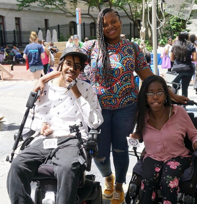 At Disability Pride Philadelphia with Talisha!