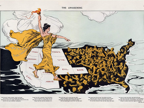 Mapping the Geographic & Racial Lines of U.S. Women's Suffrage