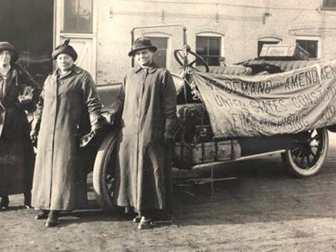 A Month in the Life of a Women's Historian; or, On the Road with the Suffragists