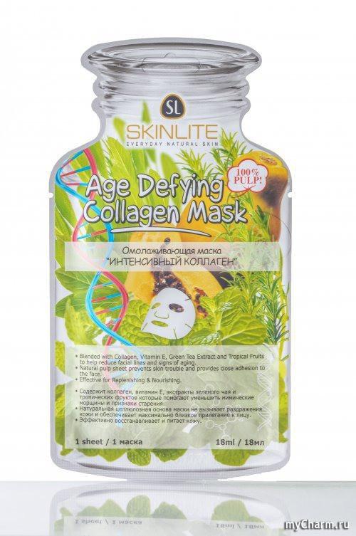 Skinlite  Омолаживающая маска Интенсивный коллаген восстанавливает и питает кожу