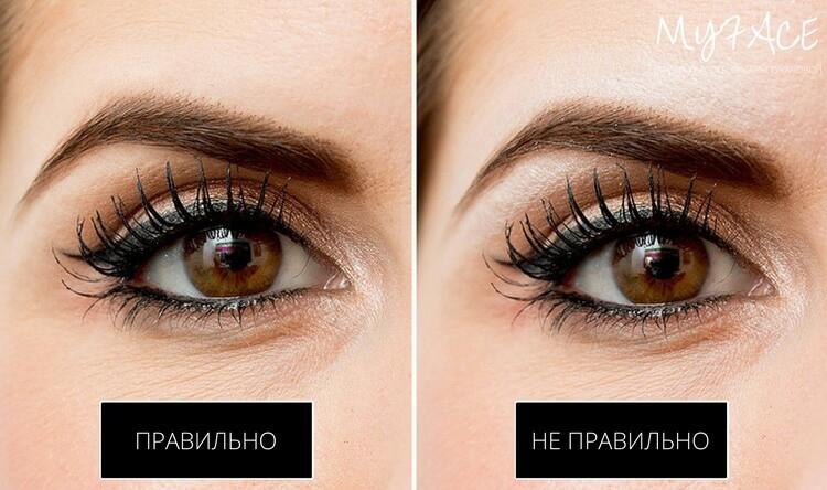 Не используйте неправильный цвет бровей