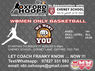 New Women-Only Basketball in Oxford