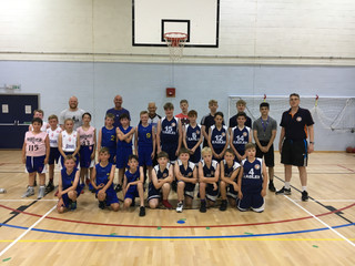 Oxfordshire's U12 ballers battled it out