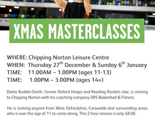 In and around Chipping Norton?Up for some Xmas Bball?