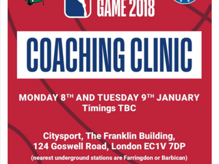 Excellent NBA Coaching Clinic in London