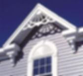 Gable Pediment and Window Head