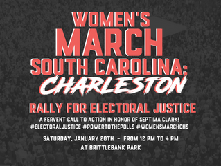 Women's March South Carolina: Rally Info