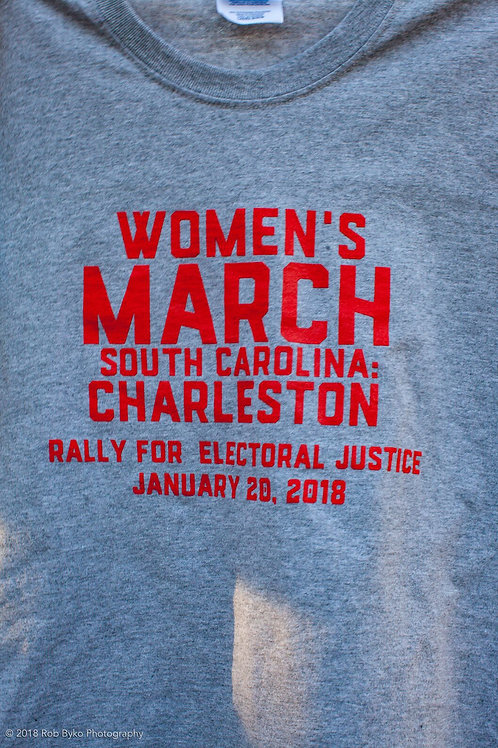 Women's March South Carolina: Rally for Electoral Justice T-Shirt