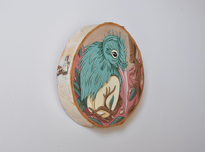 Kiwi and Egg
