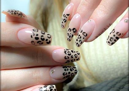 Jungle touch 🐆 #nails #intemporellenail