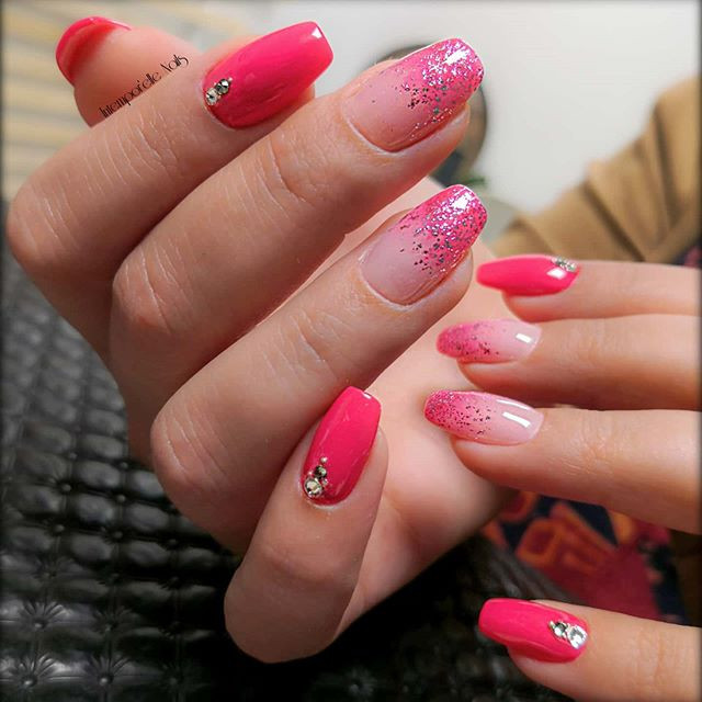 Beautiful Bittersweet 💗 #nails #intempo