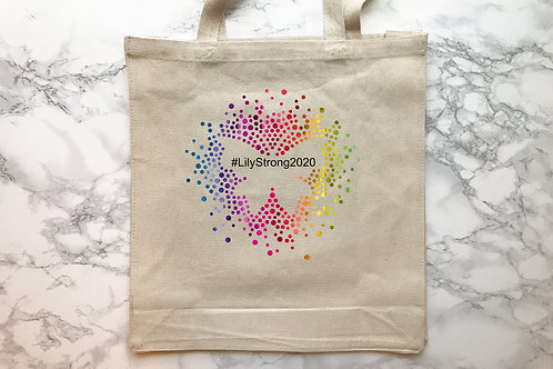 #LilyStrong2020 Butterfly Tote Bag