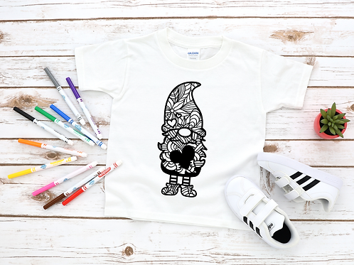 Gnome Coloring Shirt
