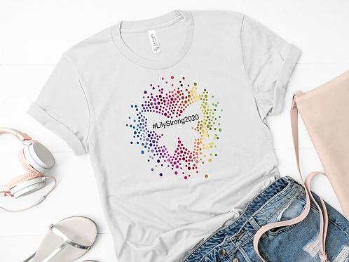 #LilyStrong2020 Butterfly Adult Shirt