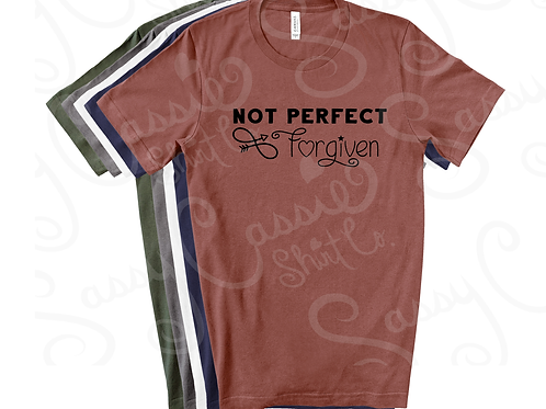 Not Perfect - Forgiven  *Digital File*