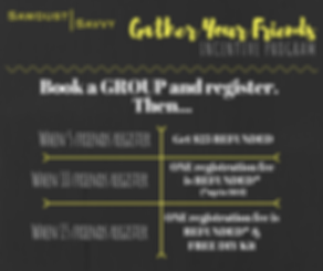 Gather Your Friends Incentive Promotion