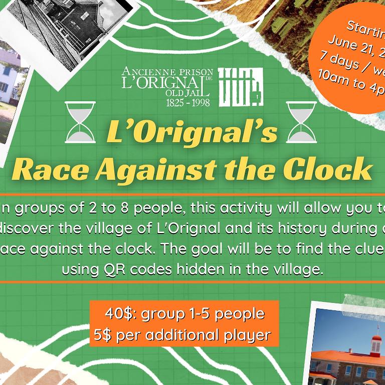 The L'Orignal's Race Against the Clock