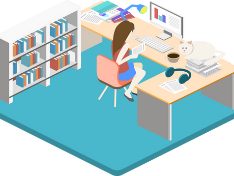 Health blog series [18]: 5 easy ways to stay healthy when working on a desk