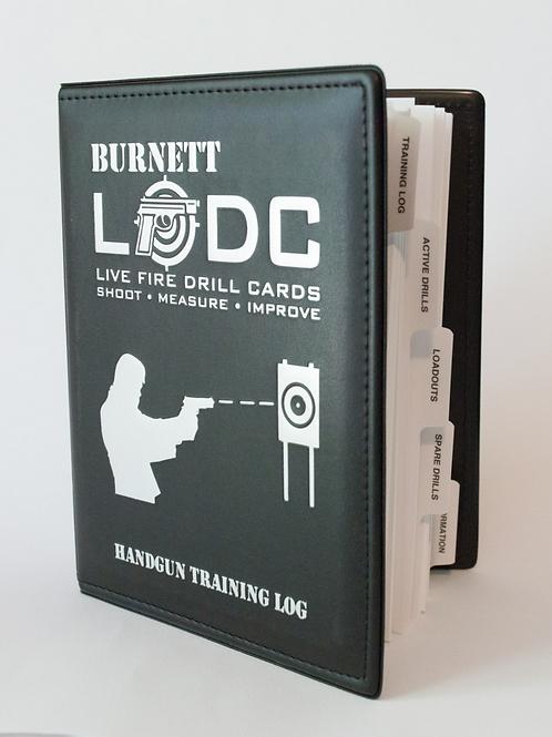 The Live Fire Drill Cards Handgun Training Log (45 drills)