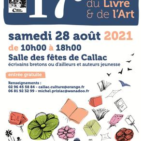 Salon du livre et de l'art de Callac (29)