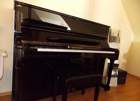 Klavier  August Förster, Modell 116, schwarz poliert