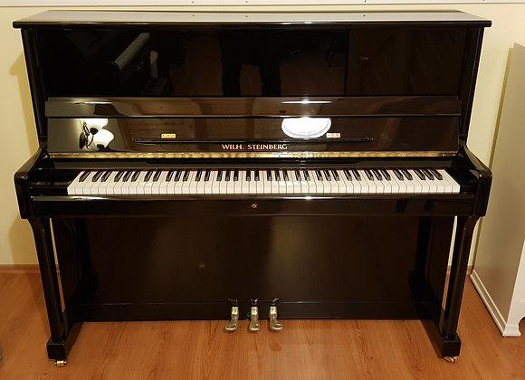 Klavier Wilhelm-Steinberg, Modell P-118, schwarz poliert