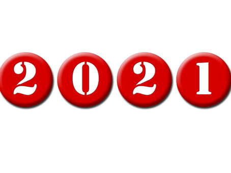 2021 - The Year of Doing it Different!