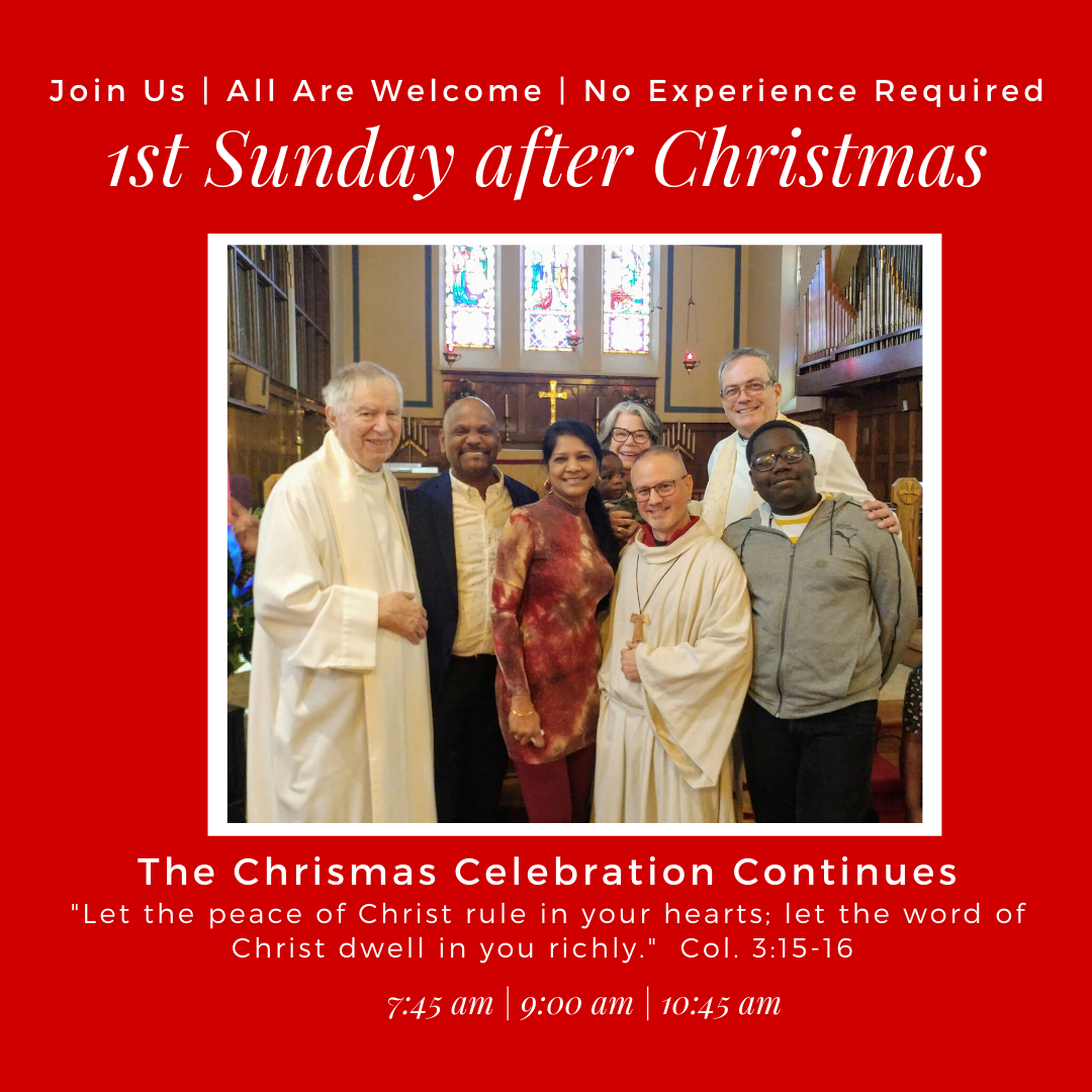 2019 - 1st Sunday After Christmas