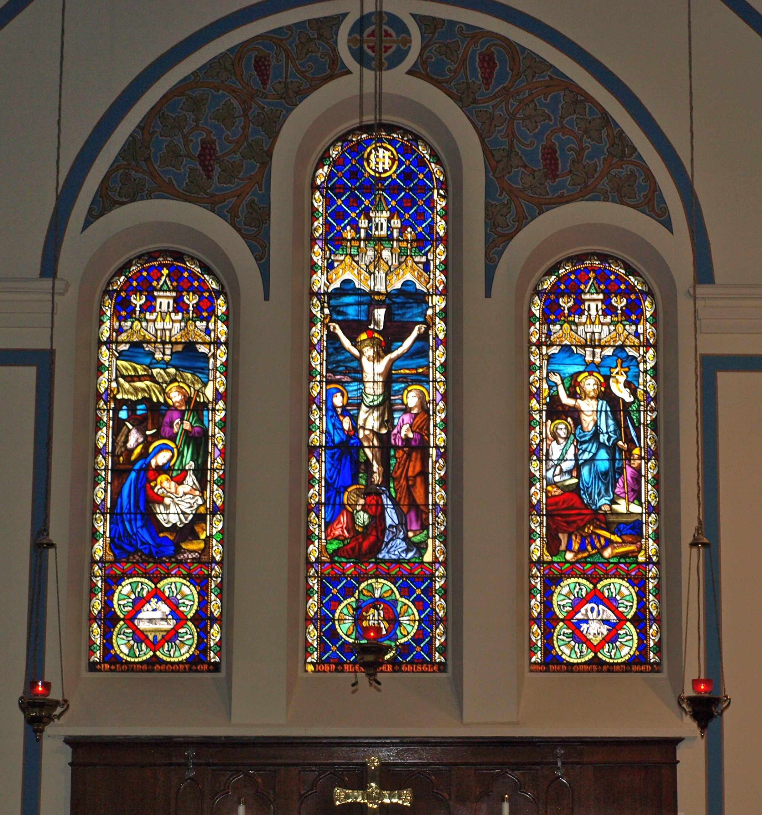 CHANCEL STAINED GLASS