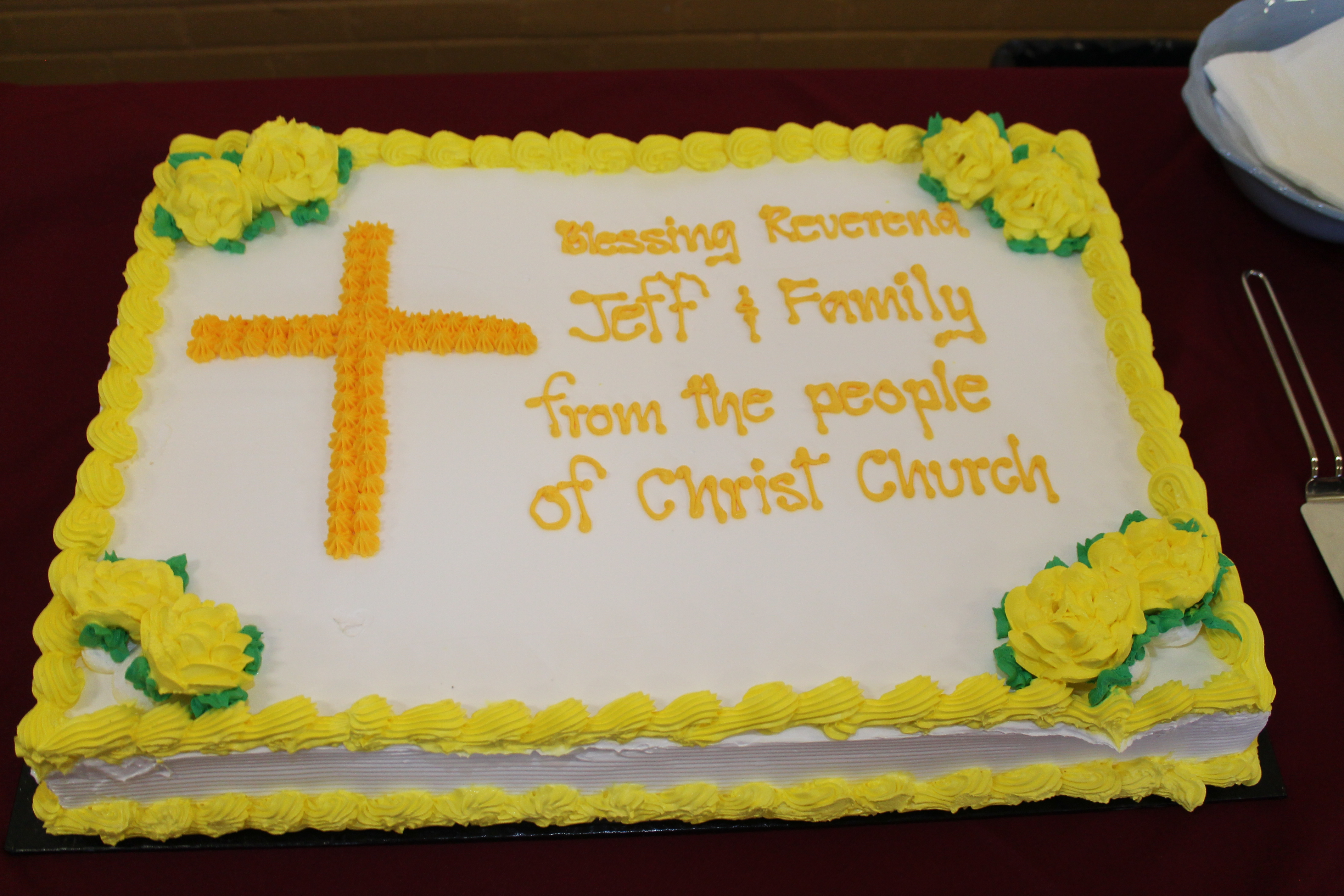 Cake.Nower's Last Sunday.Aug 26 18