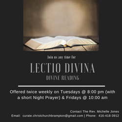 Lectio Divina was introduced to provide an intentional time with God