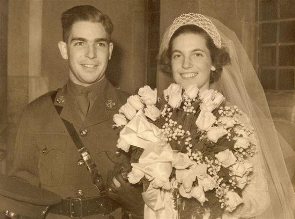 George Corkett and wife Aileen