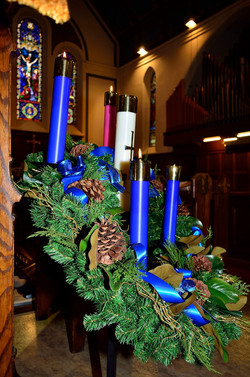 Advent Wreath to start